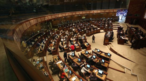 La Asamblea tiene de plazo hasta el 20 de noviembre próximo para aprobar el una comisión o una mesa de trabajo para reformas electorales. Foto: Vicente Costales / EL COMERCIO