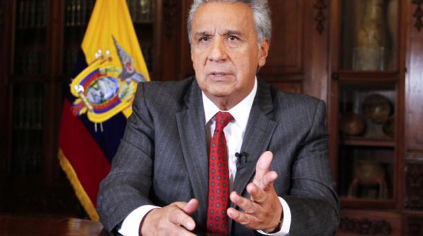 El presidente Lenín Moreno dijo que el paquete de las reformas económicas será enviado a la Asamblea Nacional. Foto: Flickr Presidencia de la República