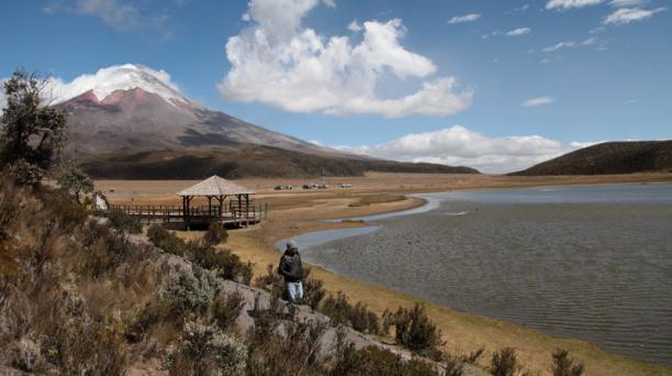 El Ministerio del Ambiente informó este 7 de octubre del 2019 del cierre del Parque Nacional Cotopaxi. Foto: Archivo/ EL COMERCIO.
