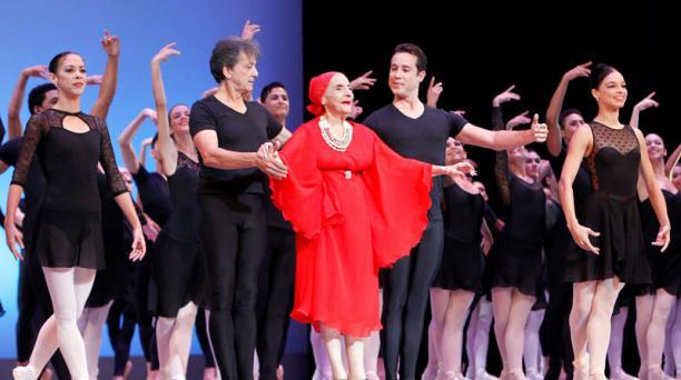 Alicia Alonso era una legendaria figura de la danza clásica. Su deceso fue confirmado por el Ballet Nacional de Cuba. Foto: EFE.