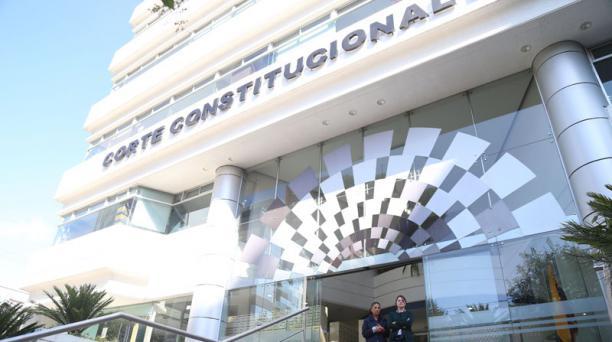 La Corte Constitucional (CC) admitió a trámite la acción pública de inconstitucionalidad sobre las resoluciones  del Consejo de la Judicatura respecto al proceso de evaluación de los jueces. Foto: Archivo/ EL COMERCIO