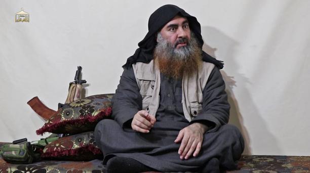 Al Baghdadi, jefe del Estado Islámico, murió el domingo 27 de octubre del 2019, anunció el presidente de EE.UU., Donald Trump. Foto: AFP