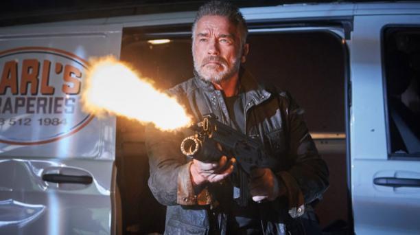Arnold Schwarzenegger retoma su papel como el T-800 en el filme 'Terminator: Dark Fate'. Foto: Outnow.ch.