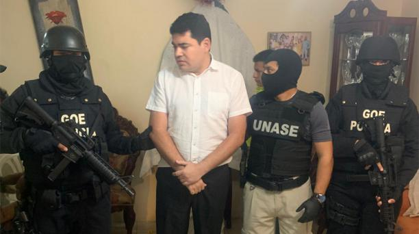 José Carlos Tuárez es investigado por el supuesto delito de tráfico de influencias. Foto: Captura Twitter Policía