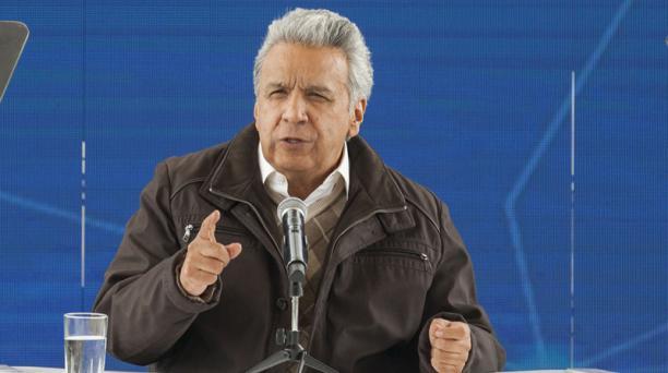 El presidente Lenín Moreno envió la nueva Proforma a la Asamblea 20:18 del domingo. Foto: Archivo/ EL COMERCIO