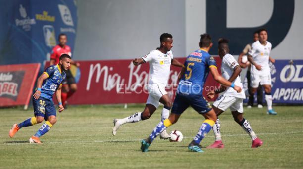Partido de vuelta de la final de la LigaPro entre Delfín SC y Liga de Quito, el domingo 15 de diciembre del 2019 en el estadio Jocay de Manta. Foto: Julio Estrella / EL COMERCIO