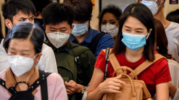 Imagen referencial. El ciudadano chino arribó el pasado 21 de enero a Quito. Foto: AFP