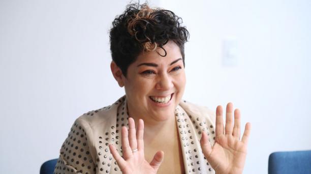 La escritora ecuatoriana María Fernanda Ampuero anunció este lunes 17 de enero del 2020 que deja la dirección del Plan Nacional del Libro. Foto: Archivo/ EL COMERCIO