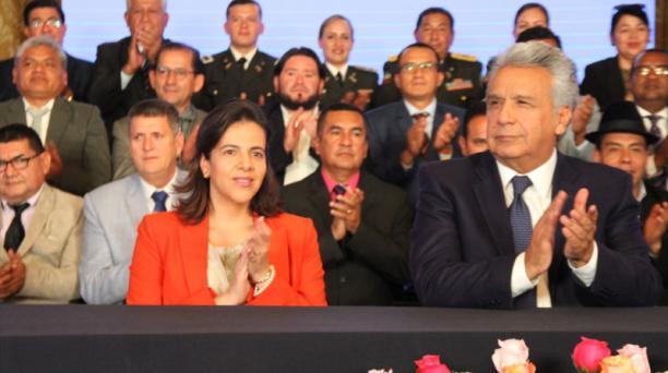 El presidente Lenín Moreno pidió celeridad a la Asamblea Nacional para aprobar las reformas a la Ley de Movilidad Humana que envió el Ejecutivo en julio de 2019. Foto: Twitter / @MinGobiernoEc