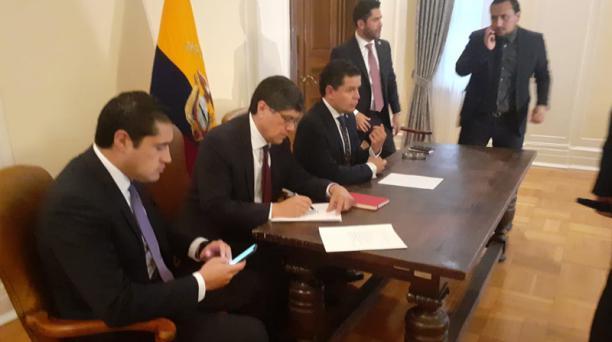 Roldán agregó que el logro inmediato más importante hasta el momento es que Ecuador será parte de la iniciativa América Crece, que dispone inversión social para Latinoamérica.
