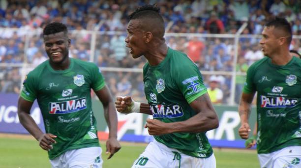 El primer gol de Orense vino al minuto 26. Marcos Cangá fue el encargado.
