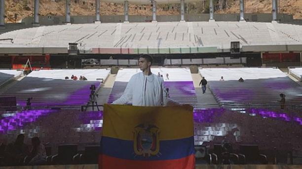 El ecuatoriano Johann Vera se clasificó a la final de la competencia internacional de Viña del Mar. Foto: Instagram/@johannvera.