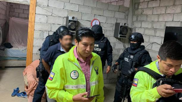 El jueves 27 de febrero del 2020, la Policía detuvo a un grupo delictivo que operaba en seis provincias. Foto: Policía