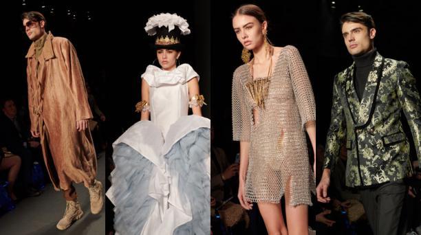 Una mirada a las tendencias desde la perspectiva de modelos ecuatorianos. Fotos: cortesía.