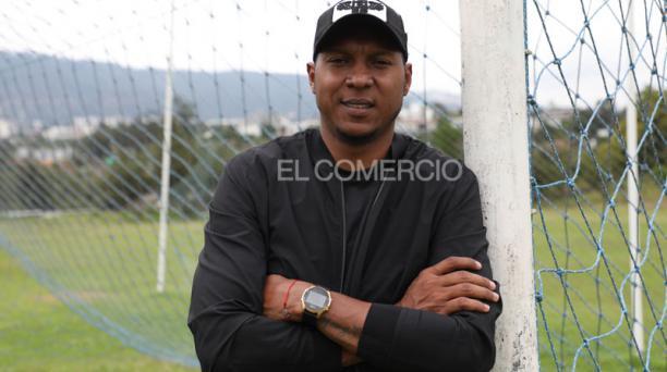 Máximo Banguera regresó a la capital después de 10 años. El Nacional anunció su fichaje en enero del 2020. Foto: David Paredes / EL COMERCIO