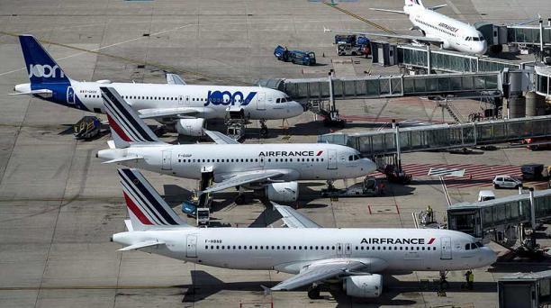 Air France volará este viernes 20 y el 22 de marzo en una aeronave con 287 asientos. Foto: AFP