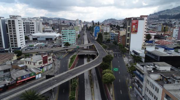 Norte de Quito durante cuarentena