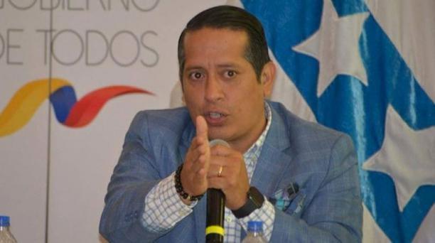 Rommel Salazar Cedeño -uno de los alfiles del nuevo Alianza País en Guayas- fue nombrado con nuevo secretario de Riesgos por el presidente Lenín Moreno. Foto: Twitter Rommel Salazar