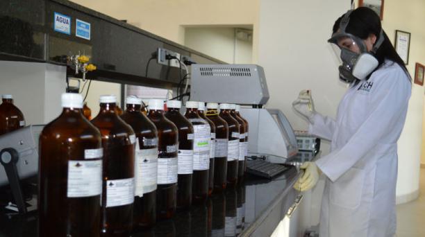 Centro de Control de Calidad de la Agencia de Regulación y Control Hidrocarburífero, una de las que se fusionará. Foto: Flickr/ ARCH.