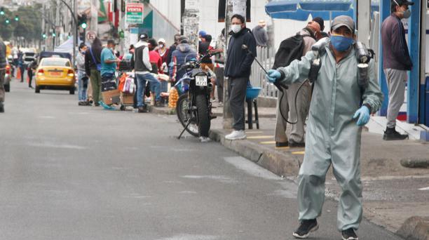 El número de contagiados por coronavirus en Ecuador aumentó este 15 de mayo de 2020