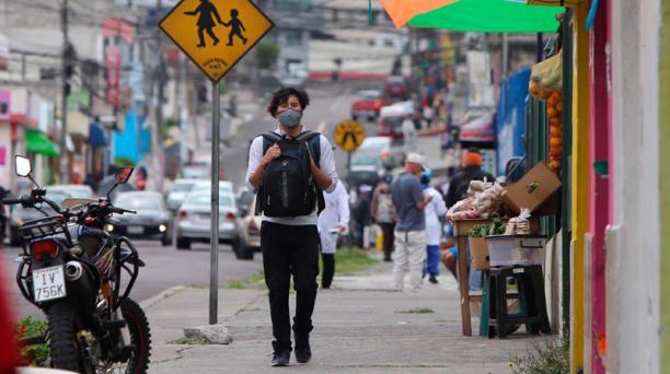 En Quito se registra importante movimiento de personas este 22 de mayo del 2020