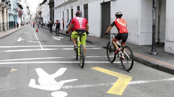 Los ciclistas que participen en el ciclopaseo deberán usar de manera obligatoria mascarilla y respetar el distanciamiento social.