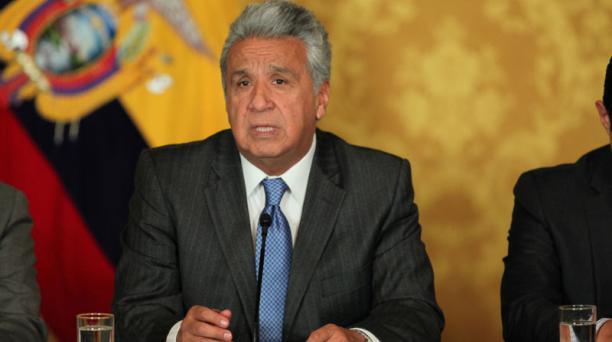 El presidente de Ecuador Lenin Moreno se pronunció la noche de este 14 de junio del 2020 en redes sociales por la Consulta y Referendo del 2018