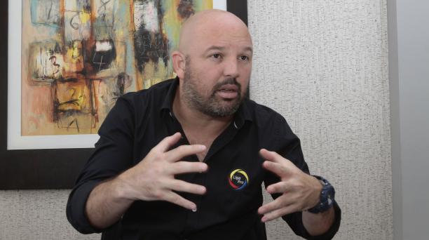 El presidente de la LigaPro, Miguel Ángel Loor, convocó a una reunión del próximo 22 de junio. Archivo/EL COMERCIO