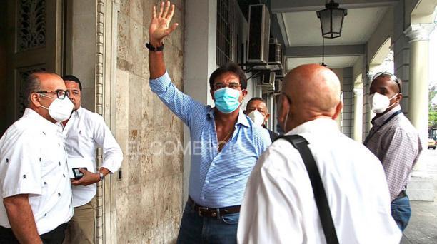 Carlos Luis Morales era investigado por un supuesto tráfico de influencias para la adquisición de insumos médicos, durante la emergencia sanitaria por el covid-19. Foto: Archivo/ EL COMERCIO
