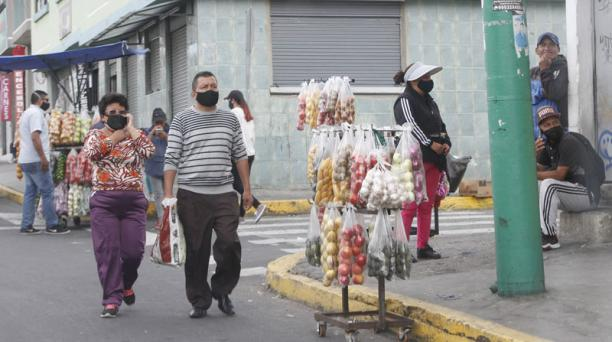 El Gobierno de Ecuador informó este 3 de julio del 2020 de un aumento de 1 171 casos de covid-19 a nivel nacional. Foto: Eduardo Terán/ EL COMERCIO.