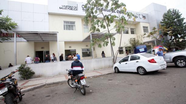 La Fiscalía investiga a funcionarios de este centro de salud pública, en Guayaquil. Foto: Enrique Pesantes / EL COMERCIO