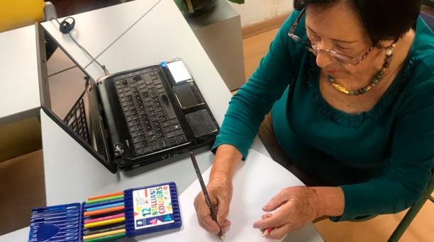 Los encuentros se realizan a través de plataformas digitales que se usan desde el celular o computadora