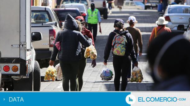 Pese a los controles de agentes metropolitanos, las ventas en Sangolquí proliferan. Foto: Vicente Costales / EL COMERCIO