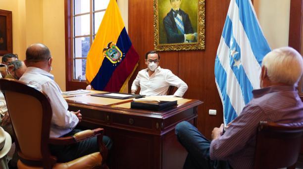 El gobernador de la provincia del Guayas, Pedro Pablo Duart, renunció a su cargo el 13 de julio del 2020. Foto: Twitter