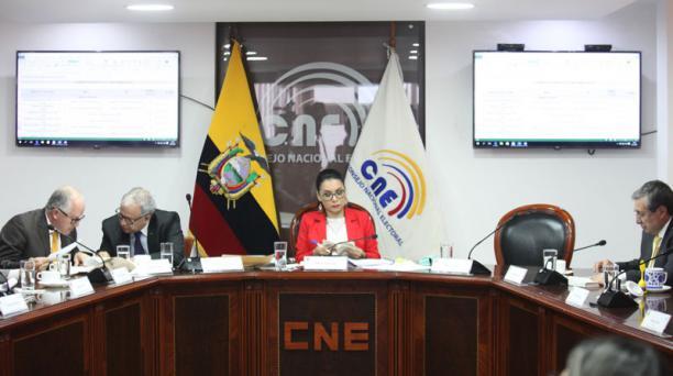 EL CNE suspendió este 19 de julio del 2020 las organizaciones políticas Fuerza Compromiso Social (FCS), Libertad es Pueblo, Juntos Podemos y Justicia Social. Foto: Archivo/ EL COMERCIO.