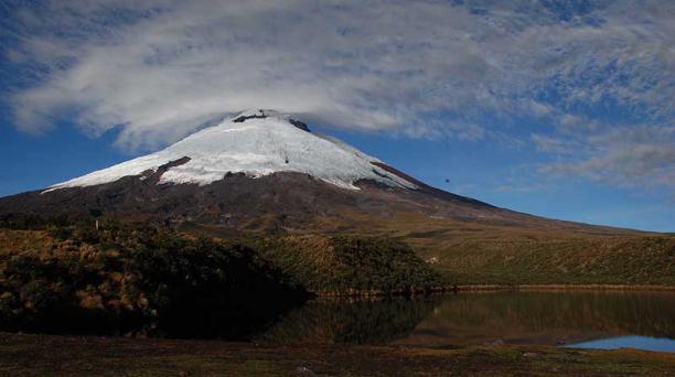 El Parque Nacional Cotopaxi fue reabierto para los visitantes el junio del 2020. Foto: archivo / EL COMERCIO