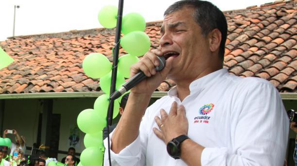Estas solicitudes fueron presentadas, entre el 24 y 27 de julio del 2020, por la defensa del exmandatario Rafael Correa, el exvicepresidente Jorge Glas y varios exfuncionarios. Foto: Archivo EL COMERCIO