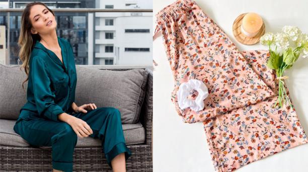 Ahora que la gente pasa más tiempo en casa, busca prendas de dormir para también usarlas en el día.