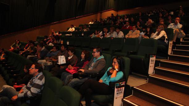 Las salas de cine volverán a abrir en Quito tras permanecer cinco meses cerradas debido a la emergencia sanitaria del covid-19. Foto: Archivo/ EL COMERCIO.
