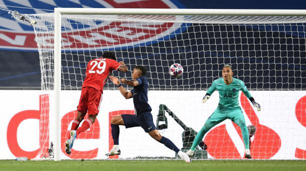 Kingsly Coman anotó el gol de Bayern, para ser campeón de la Champions League. Foto: Bayern de Múnich