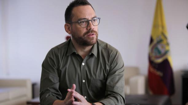 Juan Fernando Velasco es el candidato presidencial de Ruptura. Foto: Archivo/ EL COMERCIO