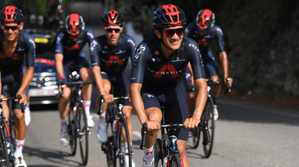 El ciclista ecuatoriano Richard Carapaz competirá en el Tour de Francia este sábado 20 de agosto. Tomado de Twitter de Carapaz