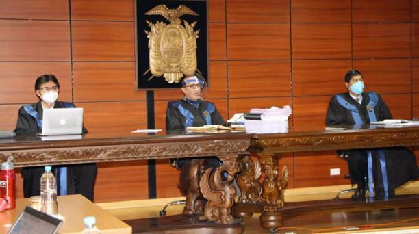 Este 4 de agosto del 2020 arrancó el segundo día de la audiencia de casación del caso Sobornos en la Corte Nacional. Foto: cortesía.