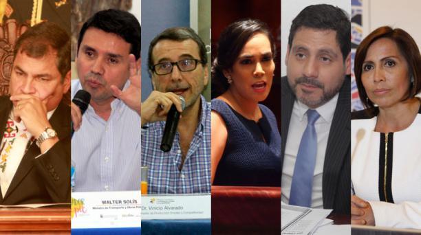 Algunos de los sentenciados por el caso Sobornos se encuentran prófugos de la justicia. El Tribunal de Casación ratificó el 7 de septiembre del 2020 las sentencias. Fotos: Archivo/ EL COMERCIO.