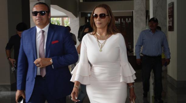 La presidenta de El Nacional, Lucía Vallecilla, fue multado con 2 000 dólares por insultar a los árbitros. Archivo/EL COMERCIO