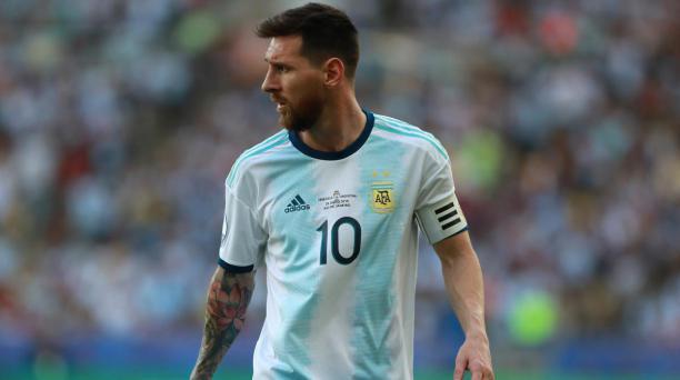 El argentino Lionel Messi sí podrá estar en el inicio de las eliminatorias al Mundial de Catar 2022, según el anuncio de la AFA. Tomado de Twitter
