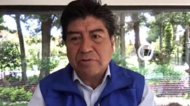 El alcalde de Quito, Jorge Yunda, dio a conocer el 11 de septiembre del 2020 las nuevas medidas que regirán en la capital, tras el cese del estado de excepción en Ecuador ante la pandemia. Foto: Captura de pantalla