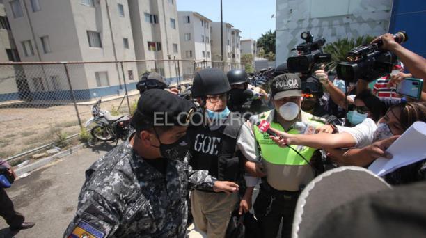Jueces ordenaron que Alexis Mera, condenado por el caso Sobornos, sea trasladado a la cárcel de Cotopaxi. Foto: Enrique Pesantes/ EL COMERCIO.