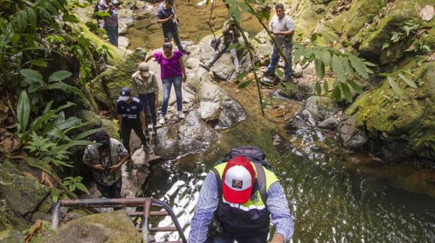 El cantón Naranjal, en Guayas, tiene una ruta de siete cascadas y agroturismo en haciendas cacaoteras. Foto: Cortesía / Prefectura del Guayas