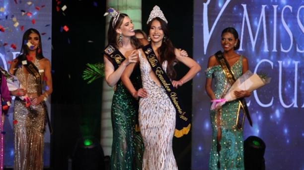 La representante de Quevedo, Leyla Espinoza Calvache, fue la ganadora del certamen este 2020. Foto: Enrique Pesantes / EL COMERCIO